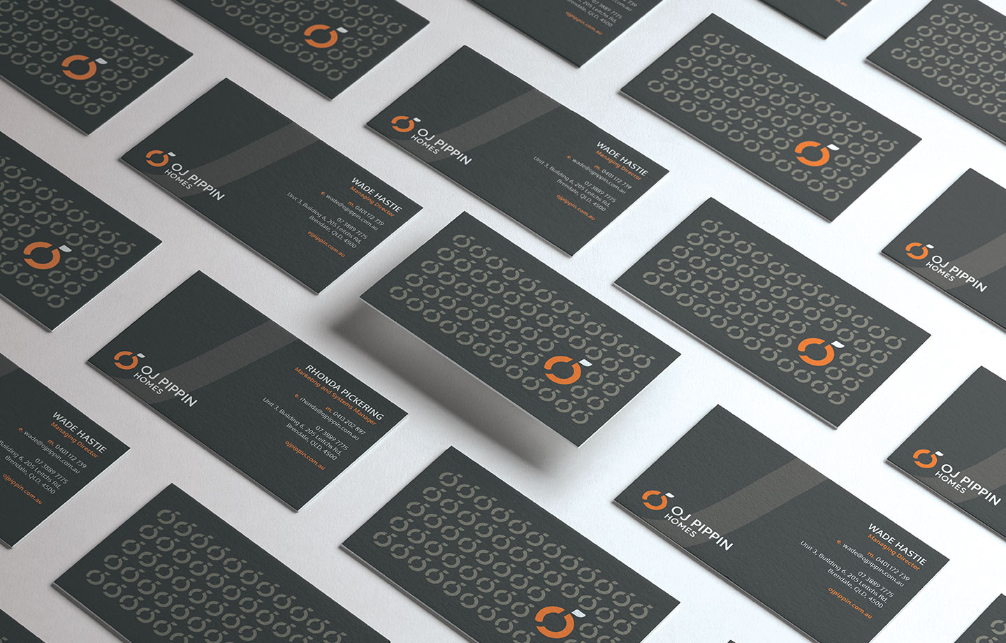 OJ Pippin Business Cards