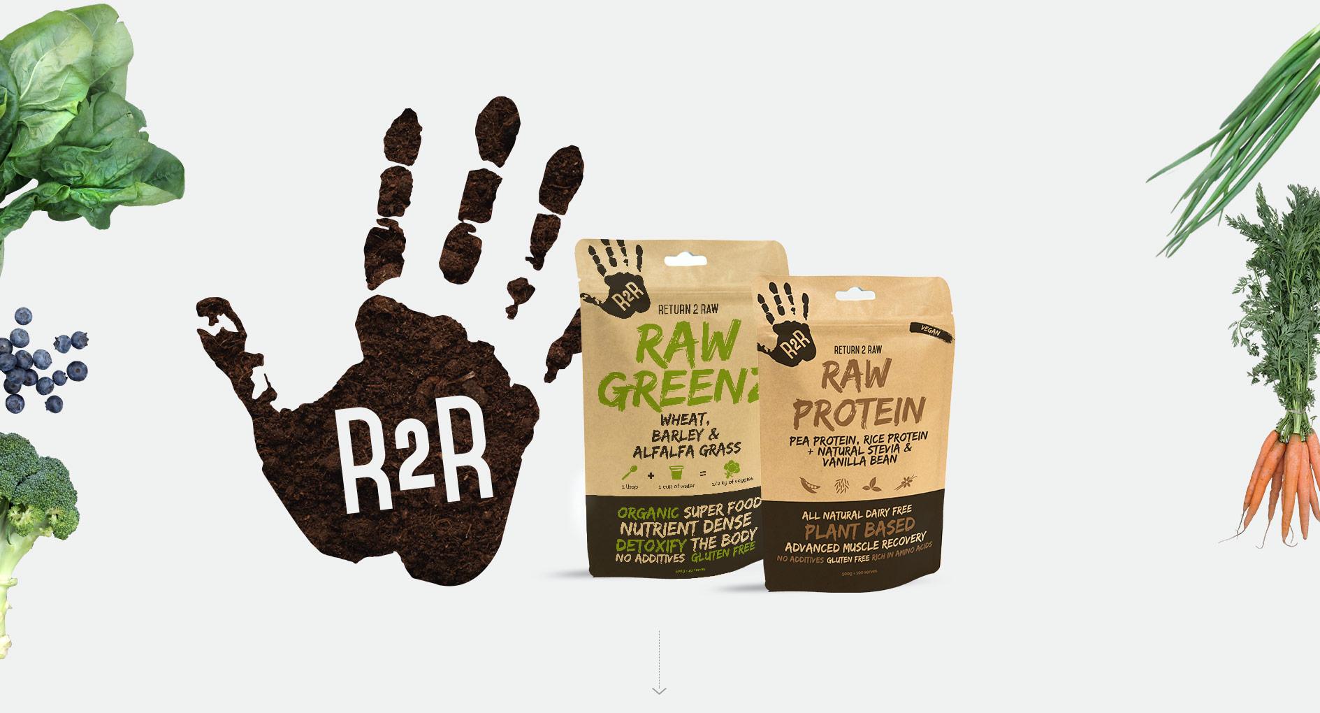 Return2Raw Packaging