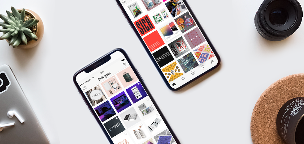 8 design Instagram