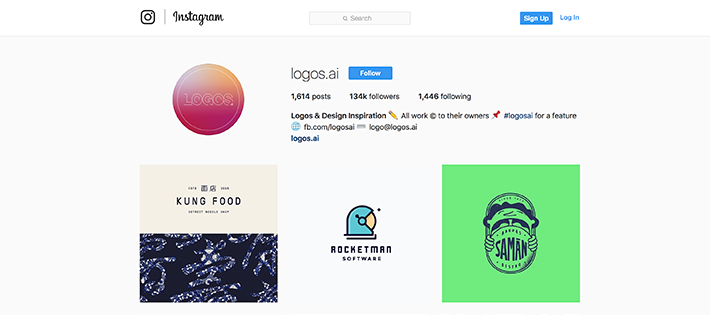 Logos design instagram account 1