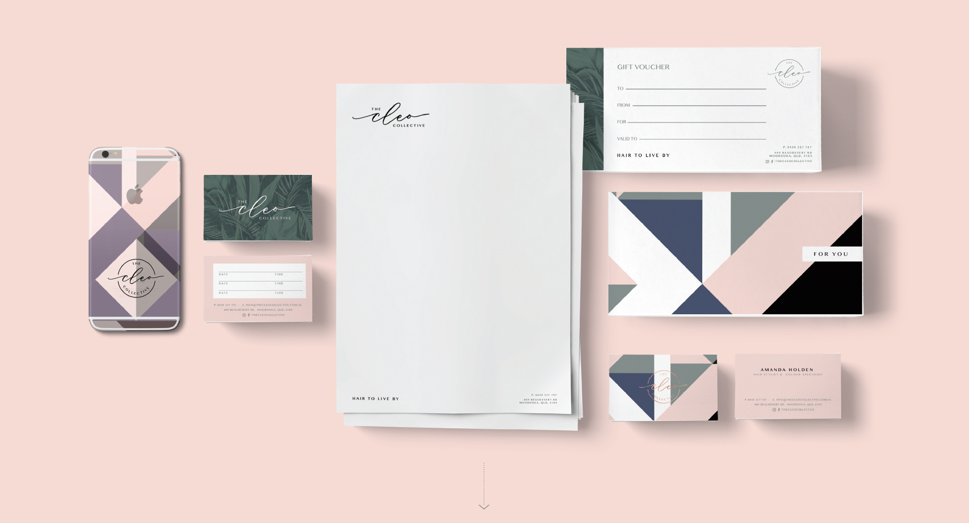 The Cleo Collective Branding