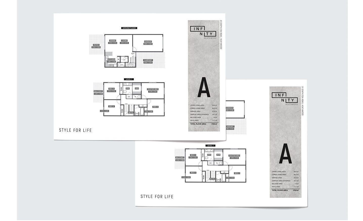 Infinity Heathwood Floorplans Design