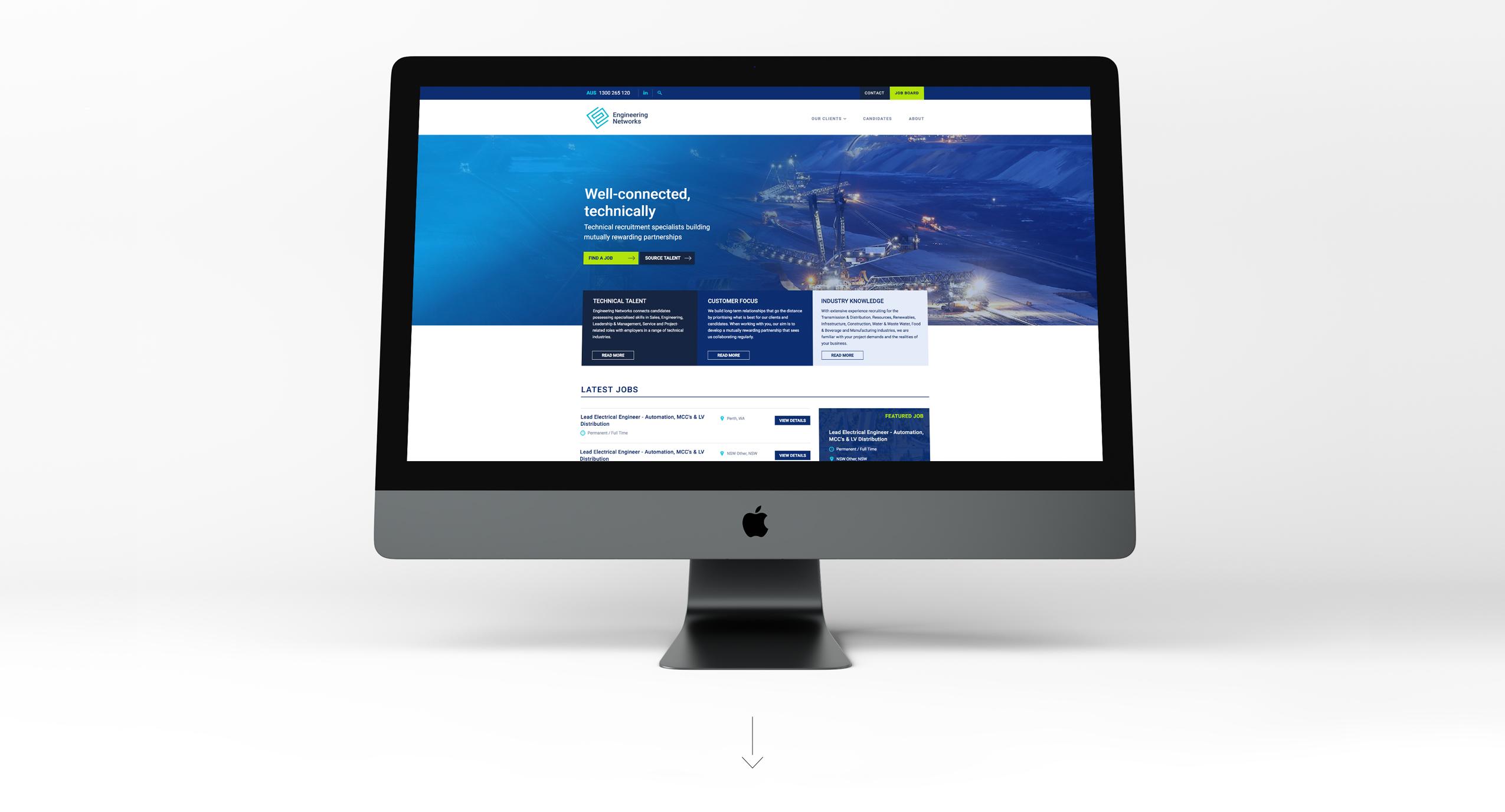 Engineering Networks website