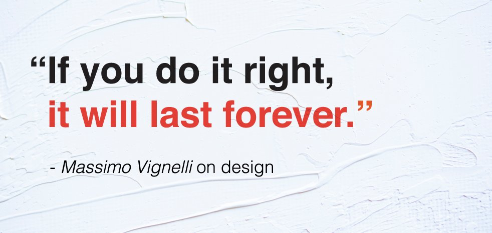 design, design principles, graphic design, marketing, successful marketing, Massimo vignelli