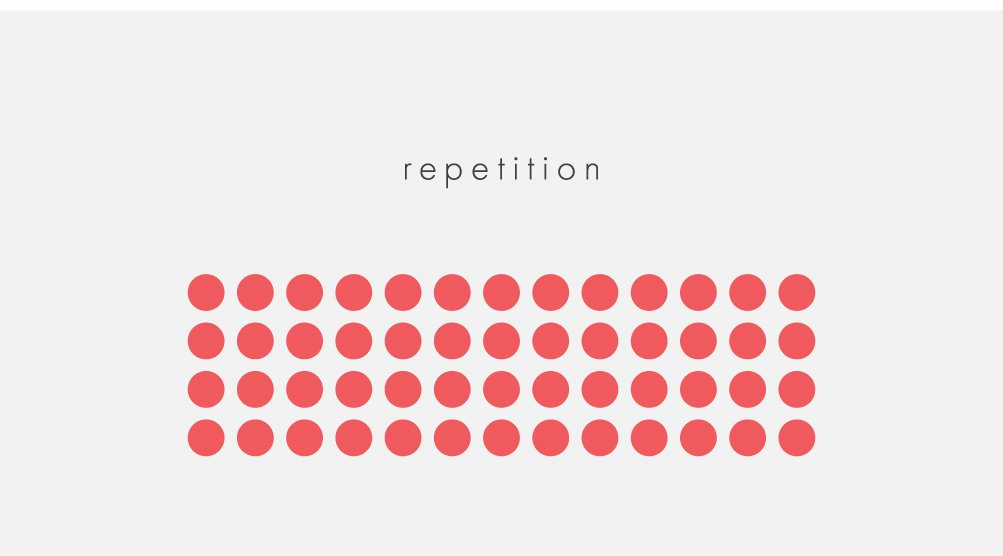 repetition, design, design principles