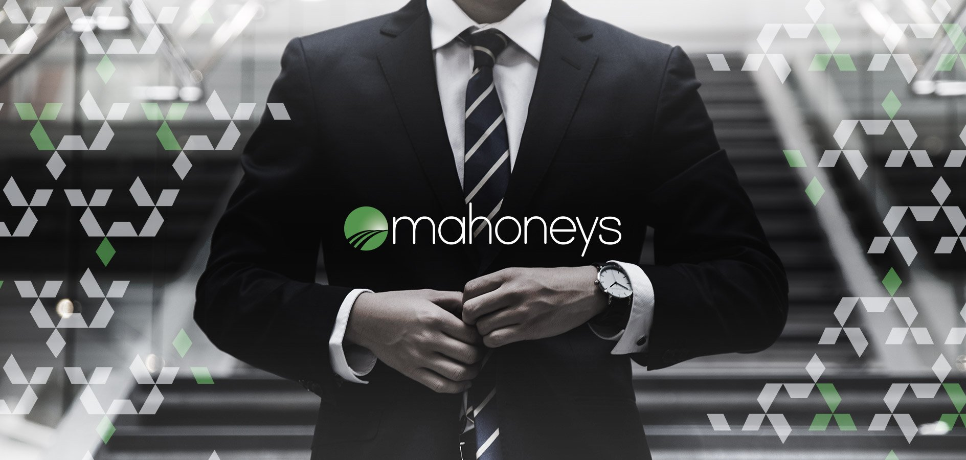 Graphic Design for Law Firm Mahoneys by Sketch Corp.