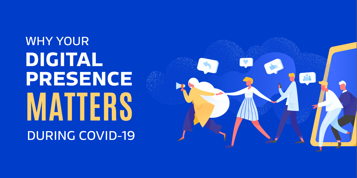 Blog post from Sketch Corp. Why your digital presence matters during COVID-19