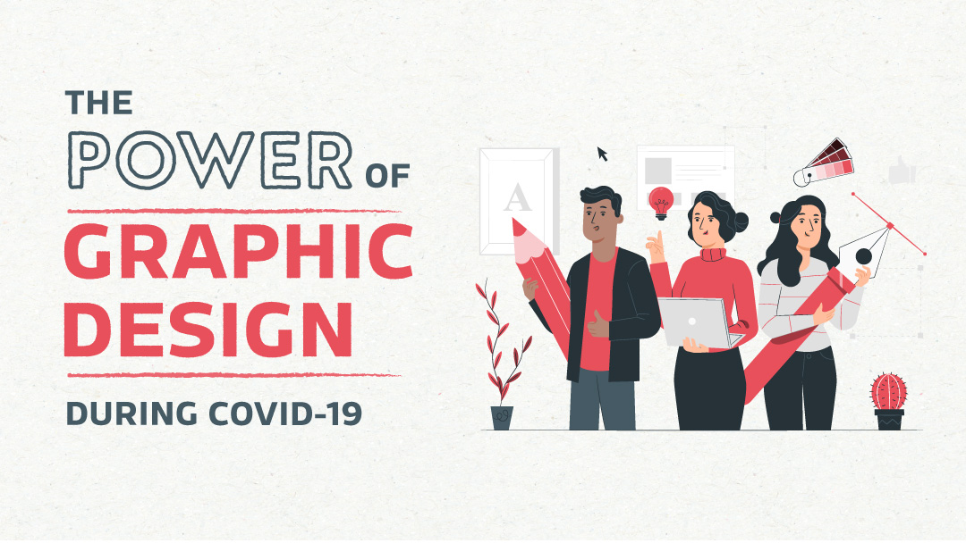 Blog post from Sketch Corp. The power of graphic design during COVID-19